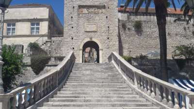 entrance to korcula old town