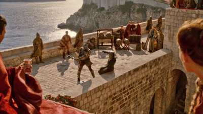 walls of dubrovnik game of thrones